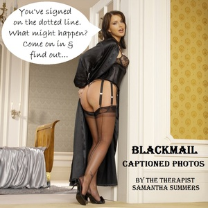 Nude blackmail captions